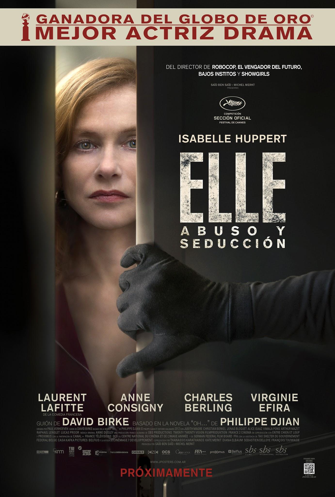 Resultado de imagen para Elle: abuso y seducción