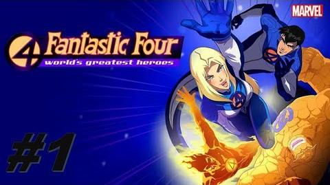 Los 4 Fantásticos- Los Héroes más Grandes del Mundo Episodio 1 - Juicio por Fuego