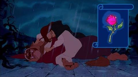 """Momento Epico Disney """"Transformacion De La Bestia"""" La Bella Y La Bestia"""