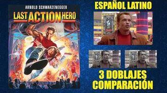 El Último Gran Héroe -1993- Doblaje Original y Redoblajes - Español Latino - Comparación y Muestra