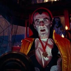 Vampiro de la entrega de tickets en <a href=