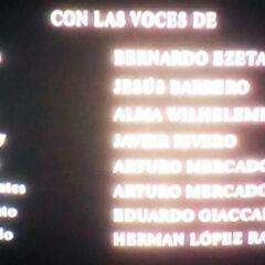 Créditos de doblaje en DVD, parte 2.