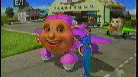 Mi Telemundo analog TV Jay jay The Jet plane ad 1