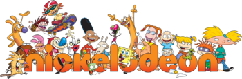 Nickelodeon-Logo-With-Characters