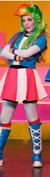 Rainbow Dash(human) mlp