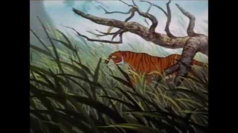 "Shere Khan y Kaa (2 8) Español Spanish "" El libro de la Selva ""."