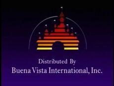 Buena Vista International Inc Logo 1985