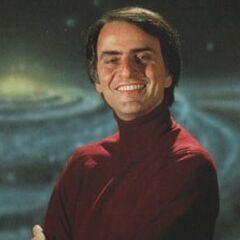 La voz de Carl Sagan en <a href=