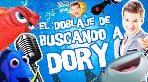 "El Doblaje latino de ""Buscando a Dory"" Memo Aponte"