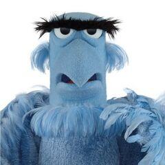 Sam, el aguila en la franquicia de Los Muppets, desde <a href=