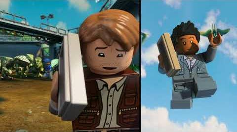 The Indominus Escape - LEGO Jurassic World - Parte 1