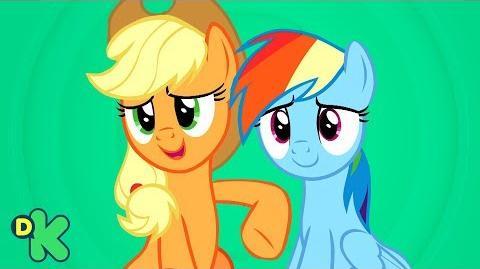 Aprender a trabajar en equipo My little pony Discovery Kids