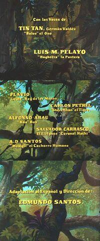 Creditos libro de la selva