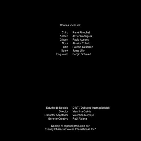 Créditos Temporada 1 (ver. internacional)