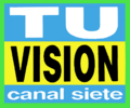 Logo Canal 7 Tu vision 1994