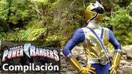 Power Rangers en Español Grandes momentos de Super Samurai Rangers