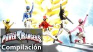Power Rangers en Español Megaforce Modificaciones