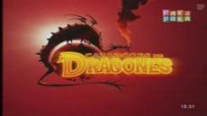 Cazadores de dragones logo español