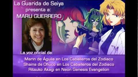 La Guarida de Seiya - Entrevista a Maru Guerrero (Parte 1)