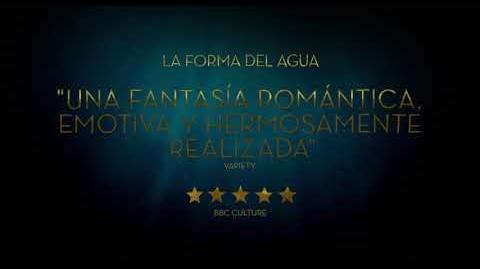La forma del agua Trailer 3 doblado Próximamente - Solo en cines
