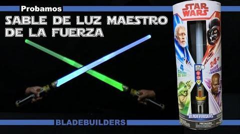 Sable de Luz Maestro de la Fuerza Bladebuilders Star Wars Hasbro Español