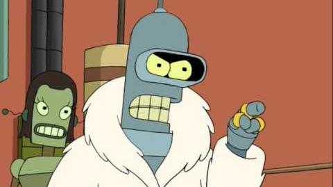 Futurama - Bender El Tremendo Voz De Cesar Soto En La Segunda Temporada