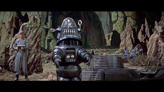 Forbidden Planet (1956) Robby el robot (Español Latino)