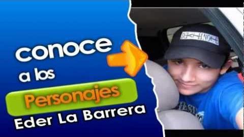 """Conoce a los personajes- Eder La Barrera """"Broke"""" - Richard y Tony"""
