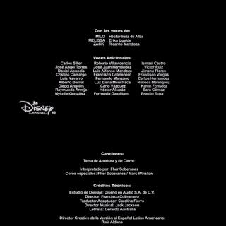 Créditos de la primera temporada (excepto episodio 15).