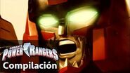 Power Rangers en Español Peleas de Zord Power Rangers Dino Charge !