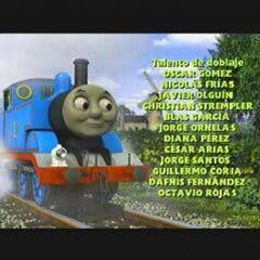 Créditos del doblaje mexicano de Thomas y sus amigos<br />(Temps. 17 - 18).