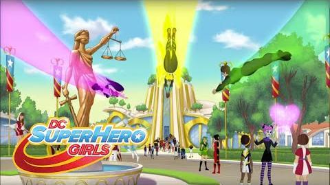 Bienvenidas a Super Hero High Episodio 101 DC Super Hero Girls