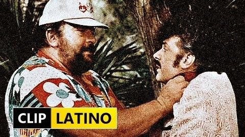"Bud Spencer ""Policia & Ladrones"" 1982 Clip Latino"
