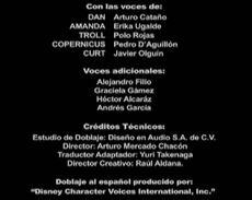 Doblaje Latino de Paquetes del Planeta X