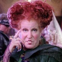 Winifred Sanderson en <a href=
