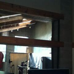 En el estudio doblando a Budderball