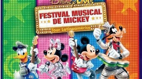Disney Live! Festival Musical de Mickey en Perú 2