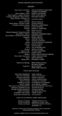 Doblaje Latino Avengers Infinity War Creditos Netflix