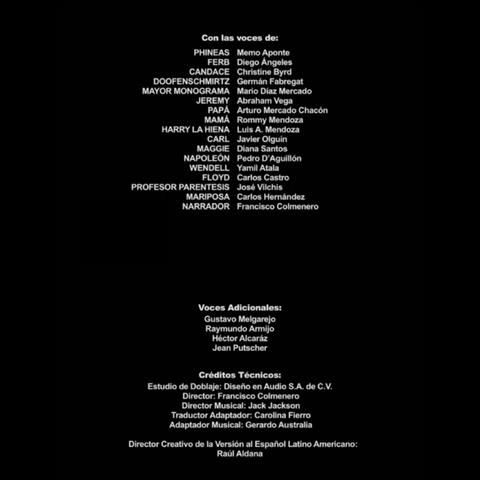Créditos de doblaje (TV)
