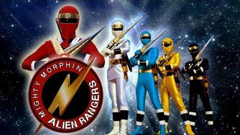 MIGHTY MORPHIN ALIEN RANGERS -INTRO- HDTV