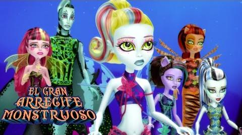 Monster High Gran Arrecife Monstruoso Monster High
