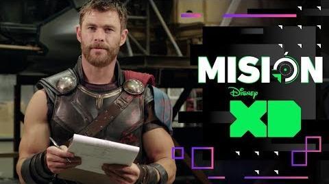 Chris Hemsworth nos cuenta Thor Ragnarok Misión XD