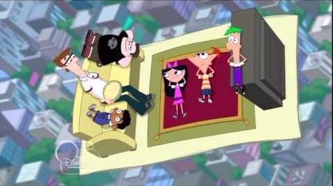 La Alfombra Aérea Del Area - Phineas y Ferb HD
