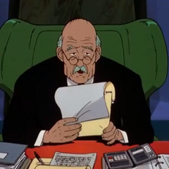Miembro del consejo #1 también en el doblaje original del clásico del anime <a href=