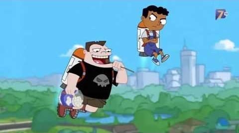 Phineas y Ferb - Volleyball de Propulsión