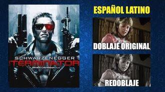 Terminator -1984- - Doblaje Original y Redoblaje - Español Latino - Comparación y Muestra