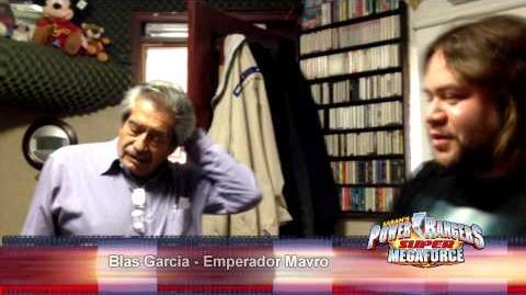 Super Megaforce Doblaje- Blas García es Emperador Mavro