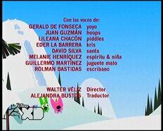 Créditos de doblaje de hoops&yoyo arruinan la Navidad (TV) (DXD)