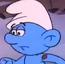 Hefty Smurf Christmas
