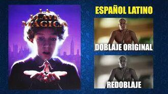La Llave Mágica -1995- - Doblaje Original y Redoblaje - Español Latino - Comparación y Muestra